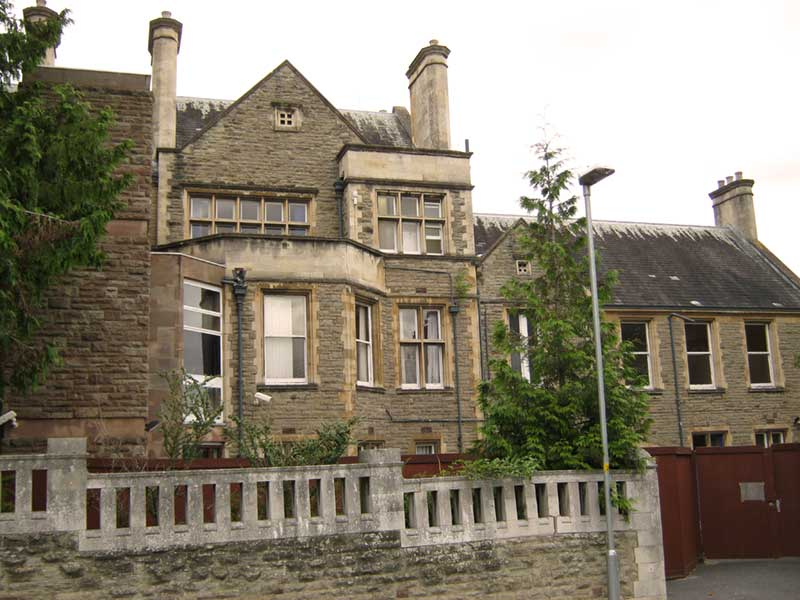 The old Malvern Community Hospital at Lansdowne Crescent in 2012