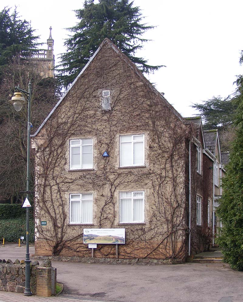 Manor House, the offices of the Malvern Hills Trust