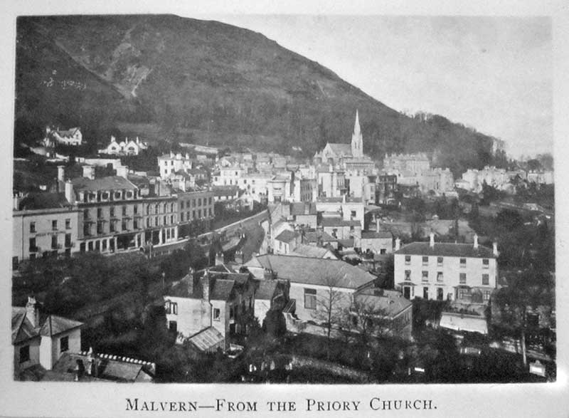 Norman May's view of Great Malvern