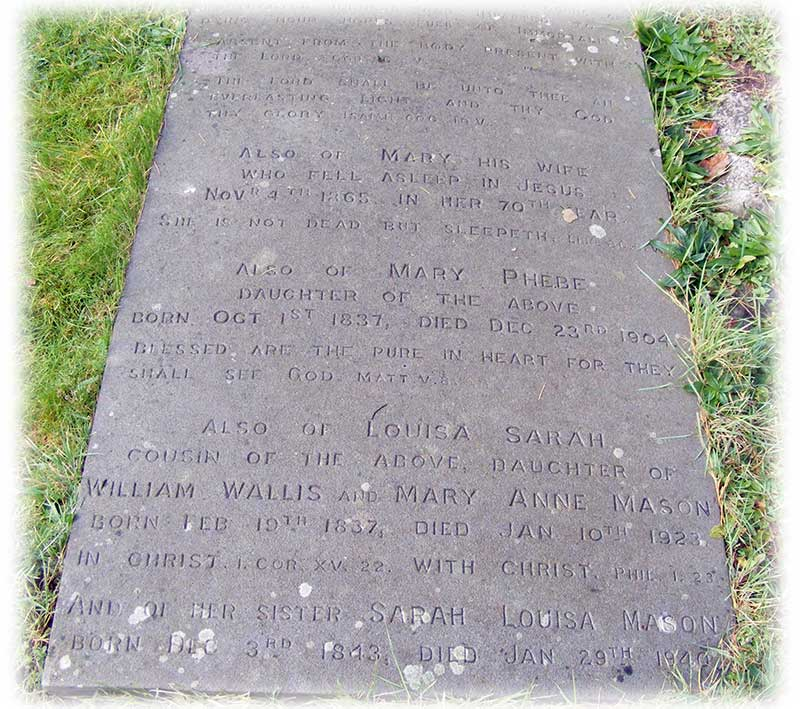 Grave of Rev Edward Palmer